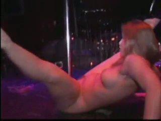 nu, dança, stripper