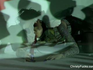 Christy mack хеллоуїн masturbation