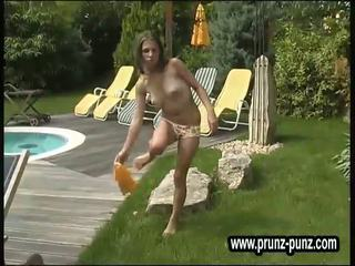 Fresh young peeing German Models Piss ...