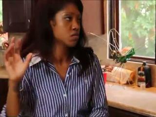 ブロンド ティーン worships ブラック 女の子 roommate