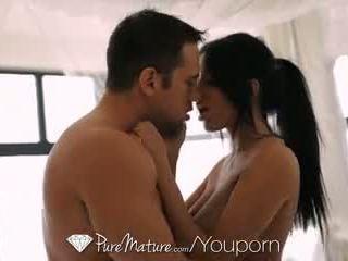Hd puremature - krūtainas mammīte anissa kate fucked līdz thick dzimumloceklis