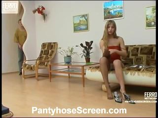 Diana And Adrian Nasty Stockings Vid