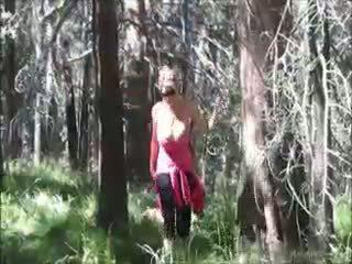 Kelly madison loves jāšanās uz the woods