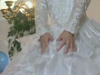 Ξανθός/ιά ευρωπαϊκό νύφη gets licked και κώλος πατήσαμε