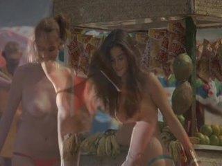 erotisk, kvinne, rykke ut