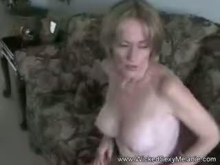 Mom Lets Step Son Do Her Body