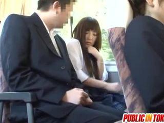 японски, публичния секс, обратен каубойка