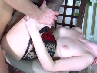Paulina and Rolf - russian hardcore anal