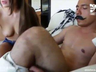 tits, brunette, trẻ