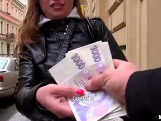 Superb eurobabe irina analyzed už pinigai
