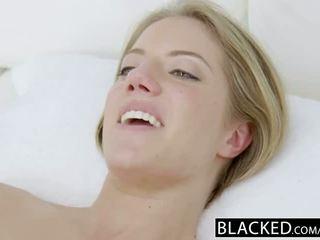 Blacked candice dare fund inpulit de uriaș negru pula
