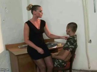 Mistress Kathia Nobili punishing latina girl