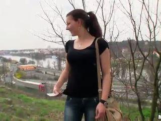 Tschechisch honig iveta flashes und öffentlich shag
