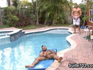 명랑한, 큰 흑인 게이 거시기, 누드 흑인 게이