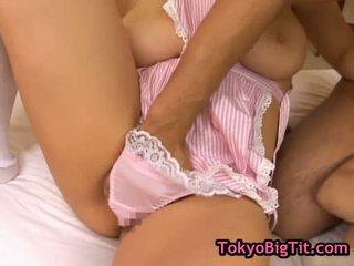 ボインの 日本語 女の子 で ホット threesom
