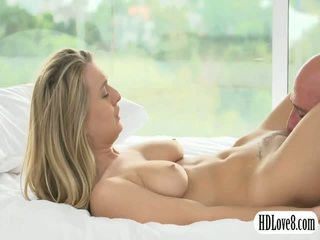 Hot blonde Natalia Starr pussy stuffed by her horny partner
