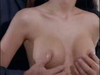 tits, brunette, silicone