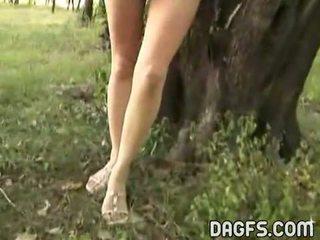 Desnudo diversión en la park