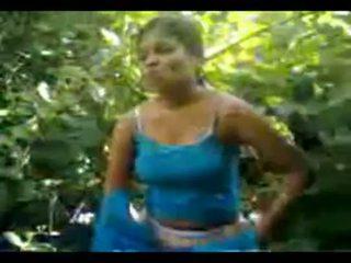 North indien village fille baisée en jungle
