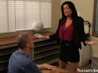 Groß titted instructor romi regen having ficken onto erotisch america