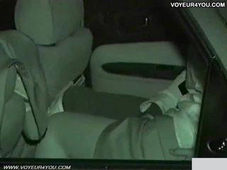 Igazi amatőr nap éjszaka autó szex