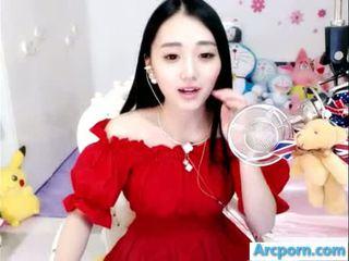 webcam, cô gái, trung quốc