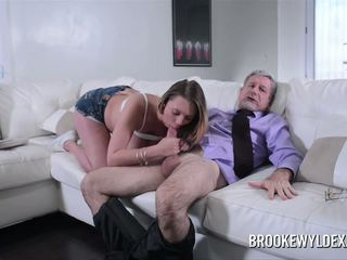 Teen Brooke Wylde Role Play with Older Guy: Free HD Porn 88