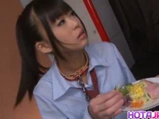 Chika Ishihara Licks Hard Cock, Free J...