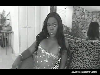Lexington Steele Finds Beautiful Black Slut Simone Tylor In His Back Yard