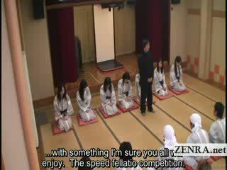 Subtitled big Boob indebted Japan milf...