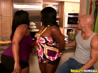 big butts, threesomes, black and ebony
