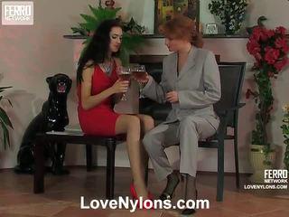 Judith и irene фантастичен чорапогащник видео производителност
