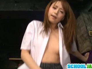 Akiho yoshizawa pleases massiivne yonker