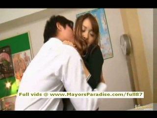Mihiro 從 idol69 亞洲人 青少年 褐髮女郎 gets licked
