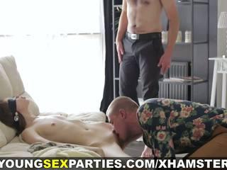 mamadas, sexo en grupo, adolescentes