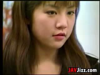 Dulce japonesa chica follando uncensored