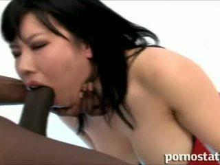 deepthroat, big dick, japanese