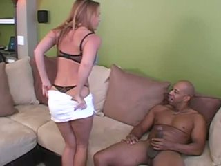 Wife interracial cuckold with her two huge lovers