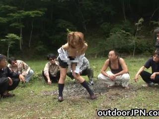 Akane hotaru פיקנטי אסייתי מודל gets