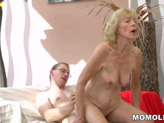 Heet oma creampied: gratis lusty grandmas hd porno video- b8