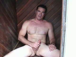 Str8 hunky dream man with movie star l...