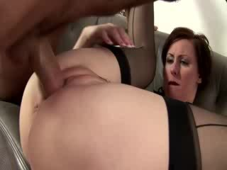 Mature french maid gets cumshot after ...