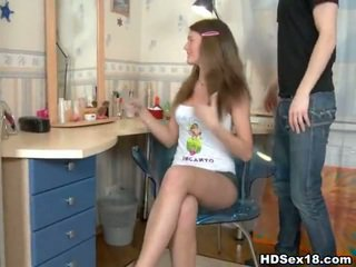 Tenåring europeisk stor kuk porno