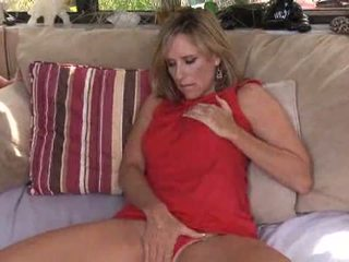 cougar, high heels, masturbation