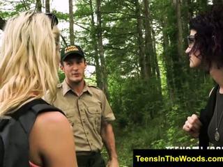 Teensinthewoods marsha får bday träldomen
