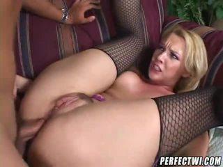 cô gái tóc vàng, assfucking, anal sex