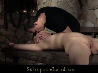 Teenie sub slave screaming discipline ...