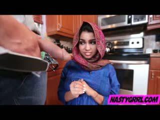 Hijab wearing muslim teen ada creampied von sie neu meister