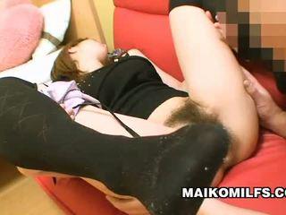 Szőrös punci japán bevállalós anyuka rina tachikawa explored