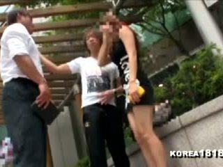 Korea1818.com - sıcak lateks eldiven islak gömlek rejects kuliste adam!